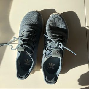 Adidas training shoes in blue